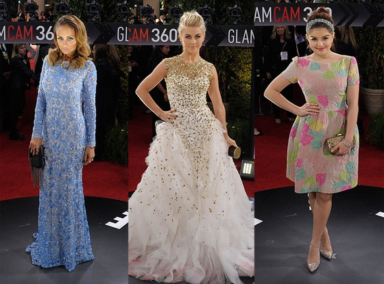 Nicole Richie, Juliaane Hough, Ariel Winter, GlamCam