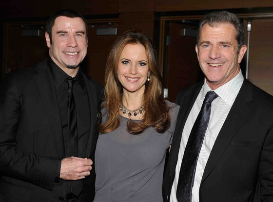John Travolta, Kelly Preston, Mel Gibson