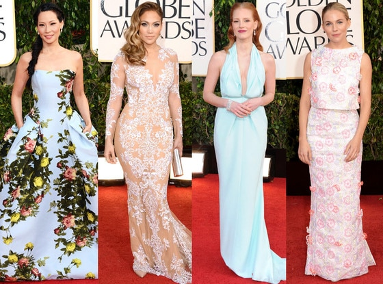 Riskiest Looks, Sienna Miller, Jennifer Lopez, Lucy Liu, Jessica Chastain