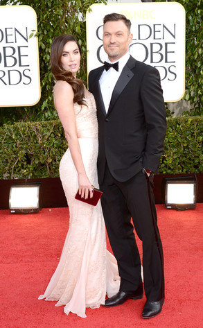 Megan Fox, Brian Austin Green, Golden Globe