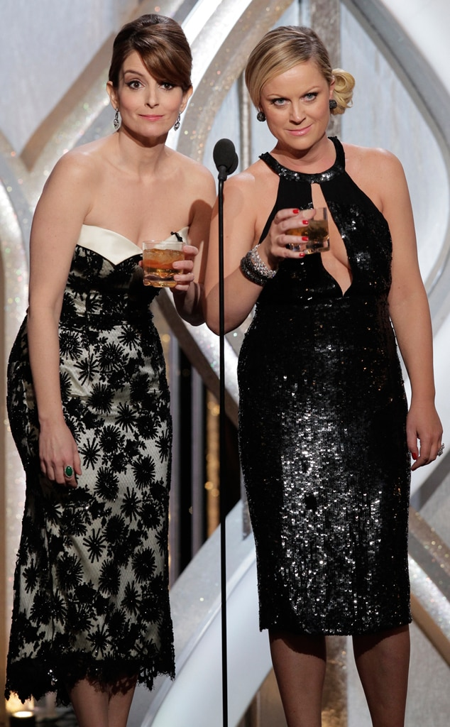 Tina Fey, Amy Poehler, Golden Globes, Memorable Moments, 2013