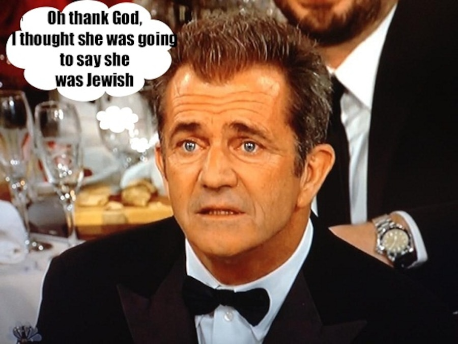 Mel Gibson Globes