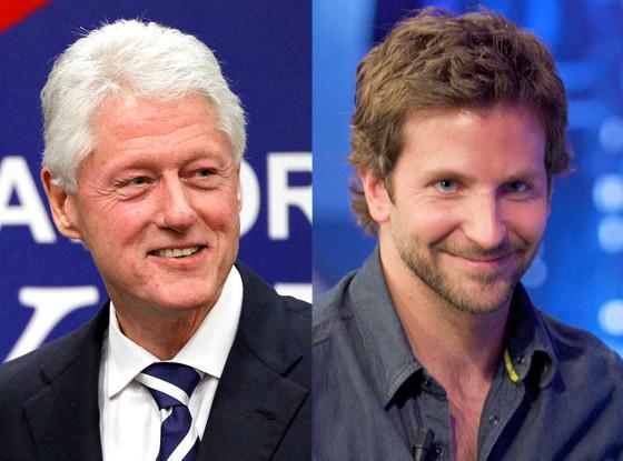 Bradley Cooper, Bill Clinton