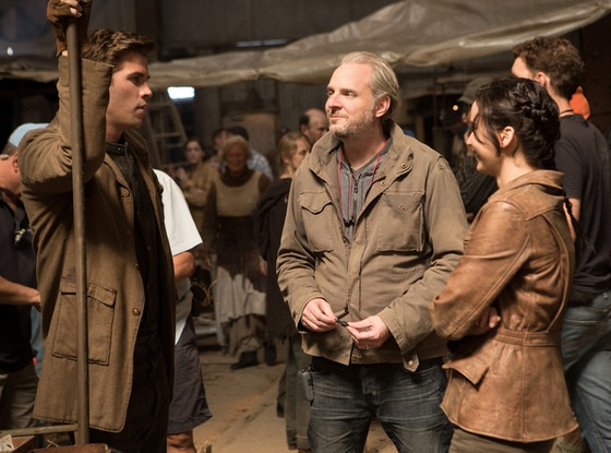 Behind the Scenes, Francis Lawrence, Jennifer Lawrence, Liam Hemsworth, The Hunger Games, Catching Fire