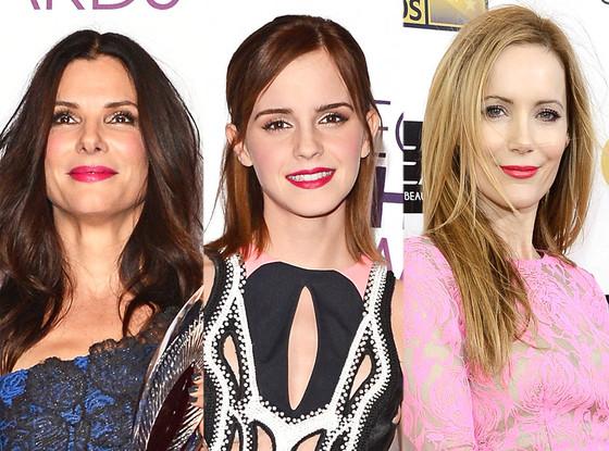 Sandra Bullock,  Emma Watson, Leslie Mann