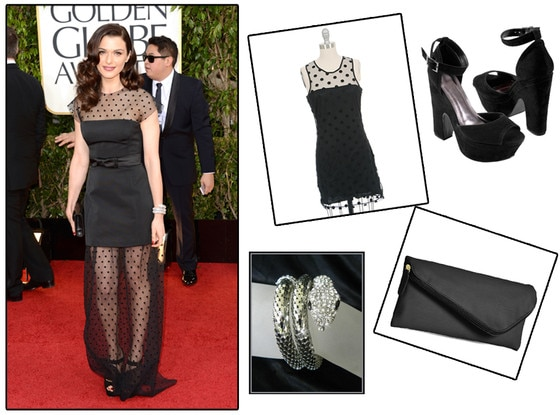 Rachel Weisz, How to look Hot, Collage