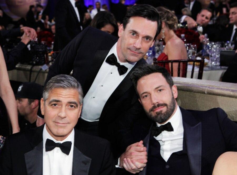 George Clooney, Jon Hamm, Ben Affleck
