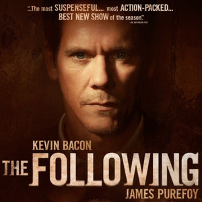 The Following, Kevin Bacon, James Purefoy