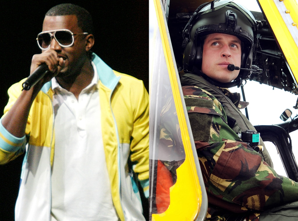 Kanye West, Prince William