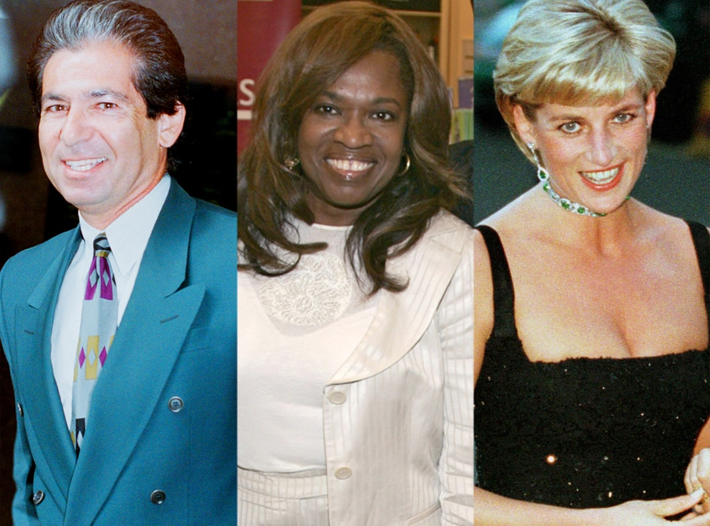 Robert Kardashian, Donda West, Princess Diana