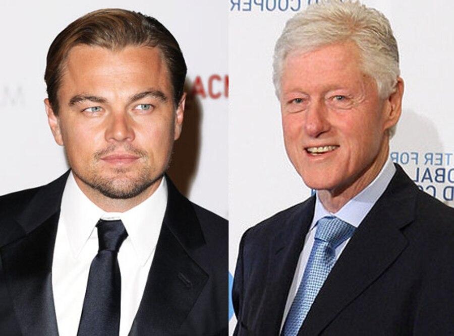 Leonardo DiCaprio, Bill Clinton