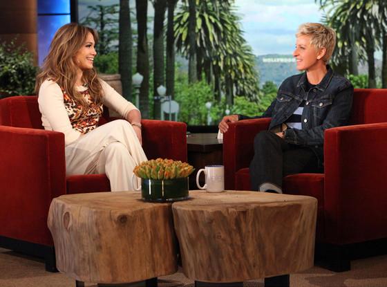Jennifer Lopez, The Ellen DeGeneres Show, Ellen DeGeneres