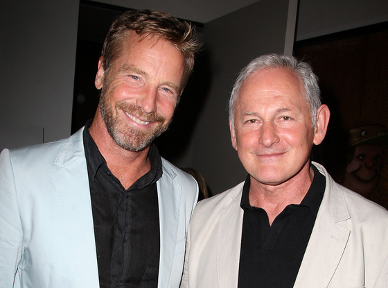 victor garber 39 s partner 5 things to know about rainer. Black Bedroom Furniture Sets. Home Design Ideas