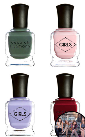 HBO Girls, Deborah Lippmann Nail Polish