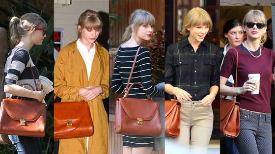 Taylor Swift, Mark Cross Satchel
