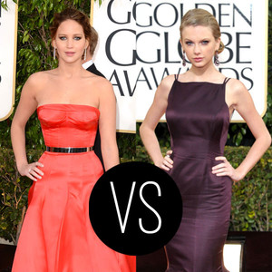 Jennifer Lawrence vs. Taylor Swift