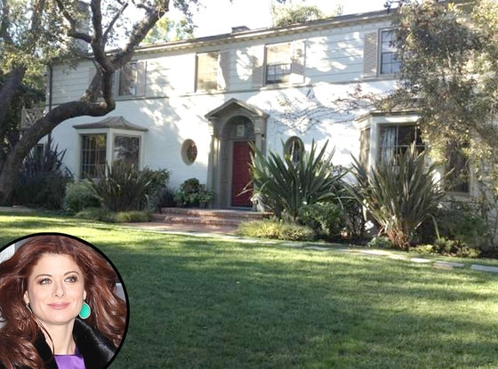 Debra Messing Selling L A House She Purchased From Ren E