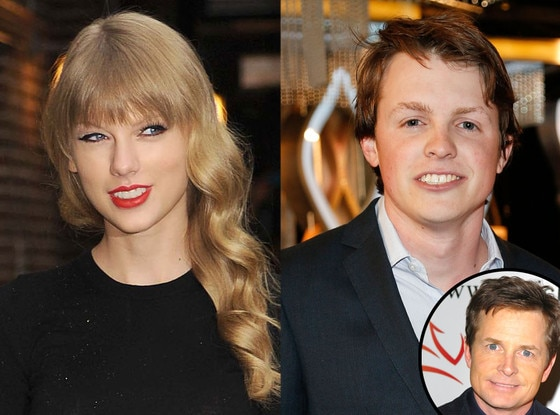 Taylor Swift, Sam Fox, Michael J. Fox