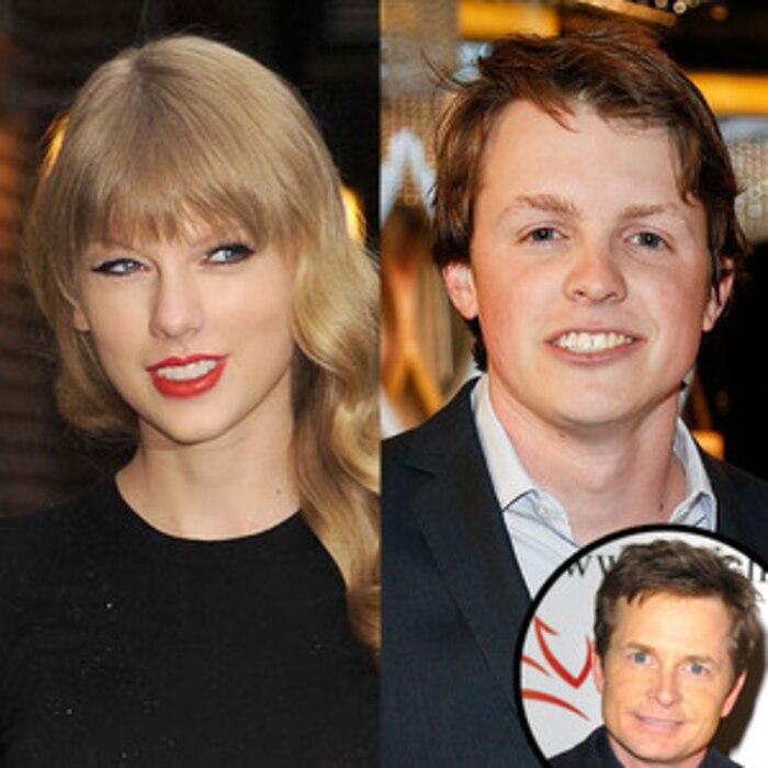 Taylor Swift, Sam Fox, Michael J. Fox