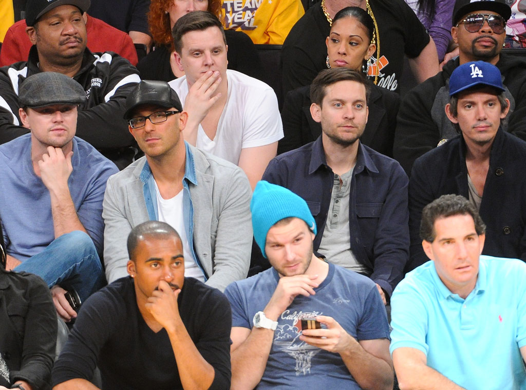 Leonardo DiCaprio, Tobey Maguire, Lukas Haas