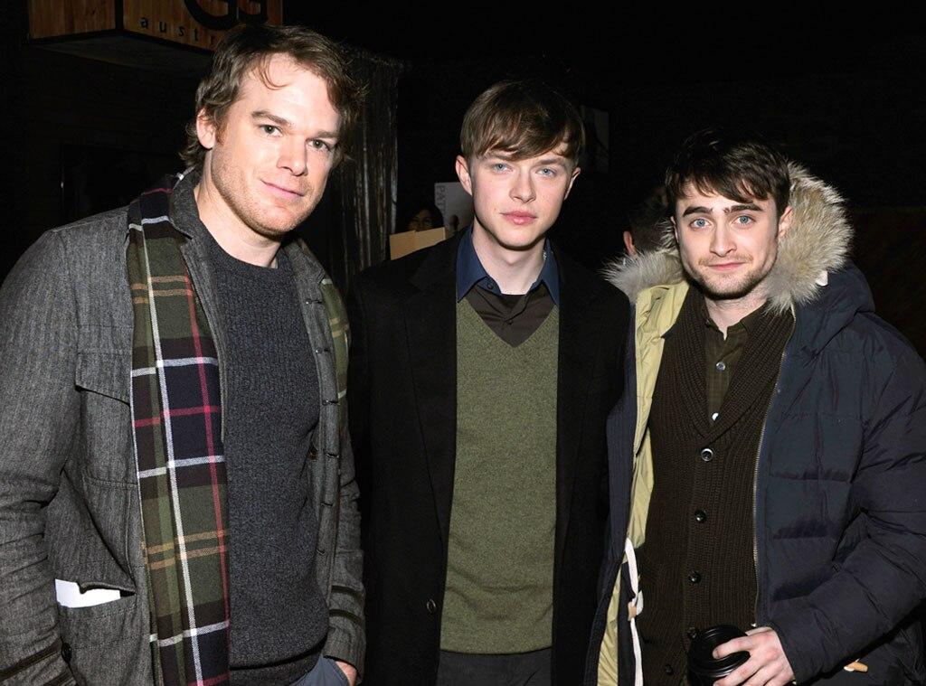 Michael C. Hall, Dane DeHaan, Daniel Radcliffe