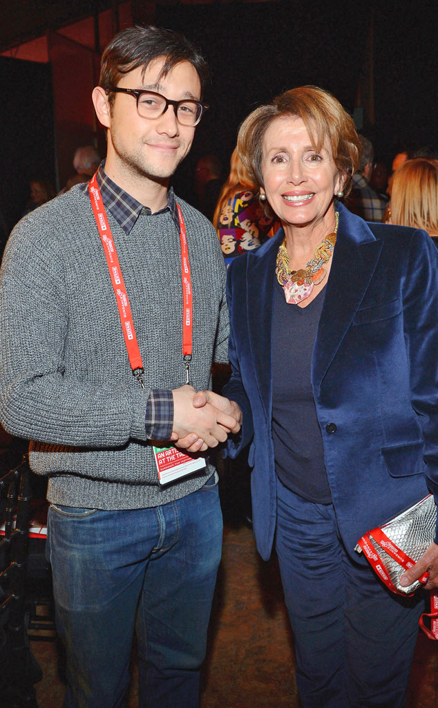 Joseph Gordon-Levitt, Nancy Pelosi