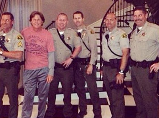 Bruce Jenner, Kardashians, Swatted