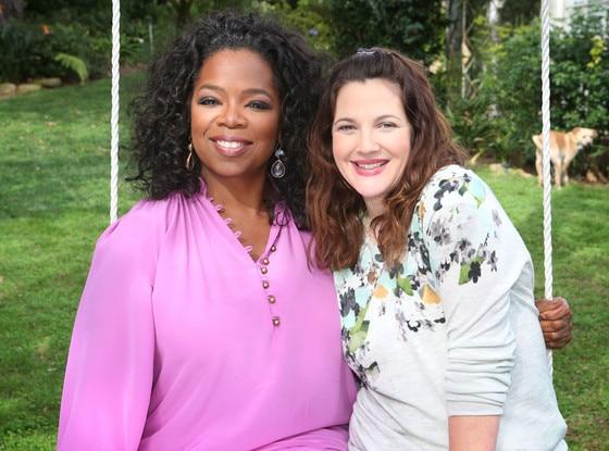 Oprah, Drew Barrymore