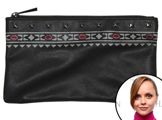 Christina Ricci, Make Up For Ever Bag