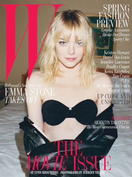 Emma Stone, W Magazine Cover