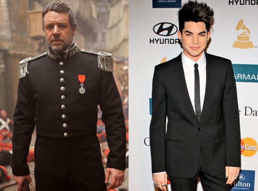 Russell Crowe, Adam Lambert