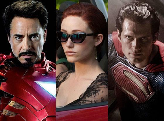 Iron Man 3, Beautiful Creatures, Man of Steel