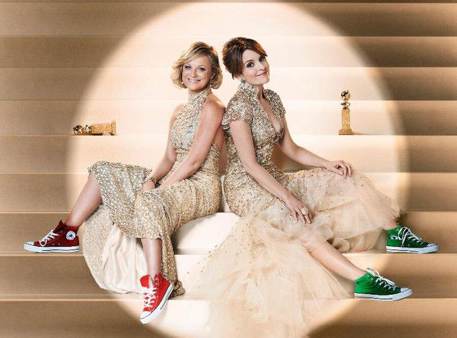 Tina Fey, Amy Poehler, 70th Annual Golden Globe Awards Promo