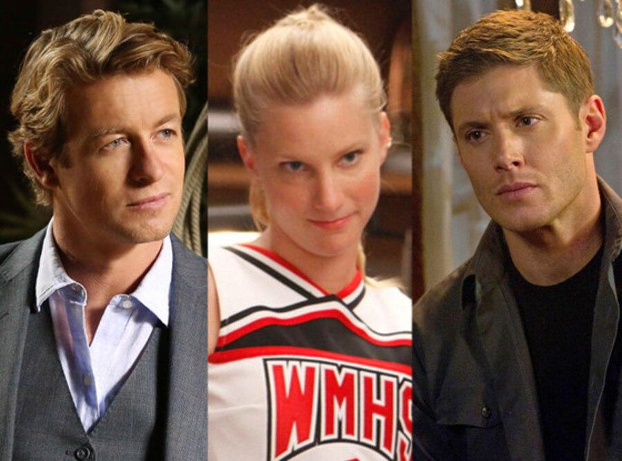 Simon Baker, The Mentalist, Heather Morris, Glee, Jensen Ackles, Supernatural