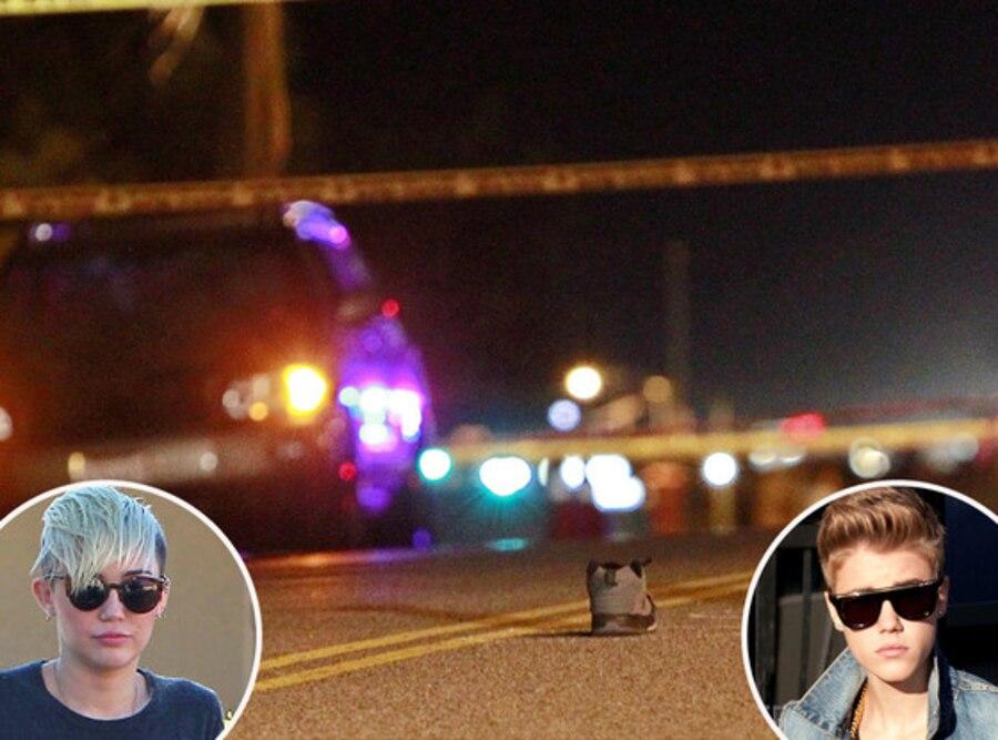 Justin Bieber, Miley Cyrus, Paparazzi Killed