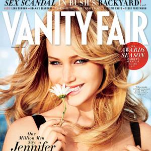 Jennifer Lawrence Covers <i>Vanity Fair</i>, Talks Prefame Fangirling, Calls Red Carpet &quot;Torture&quot;