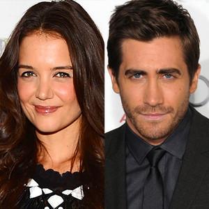 Katie Holmes and Jake Gyllenhaal Secretly Dating  Not So Fast     E  Online Katie Holmes and Jake Gyllenhaal Secretly Dating  Not So Fast      E  News