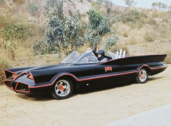 Batmobile, Batman, Adam West