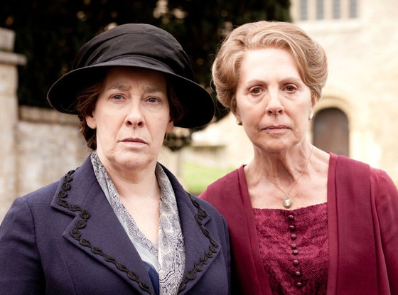 Downton Abbey, Phyllis Logan, Penelope Wilton