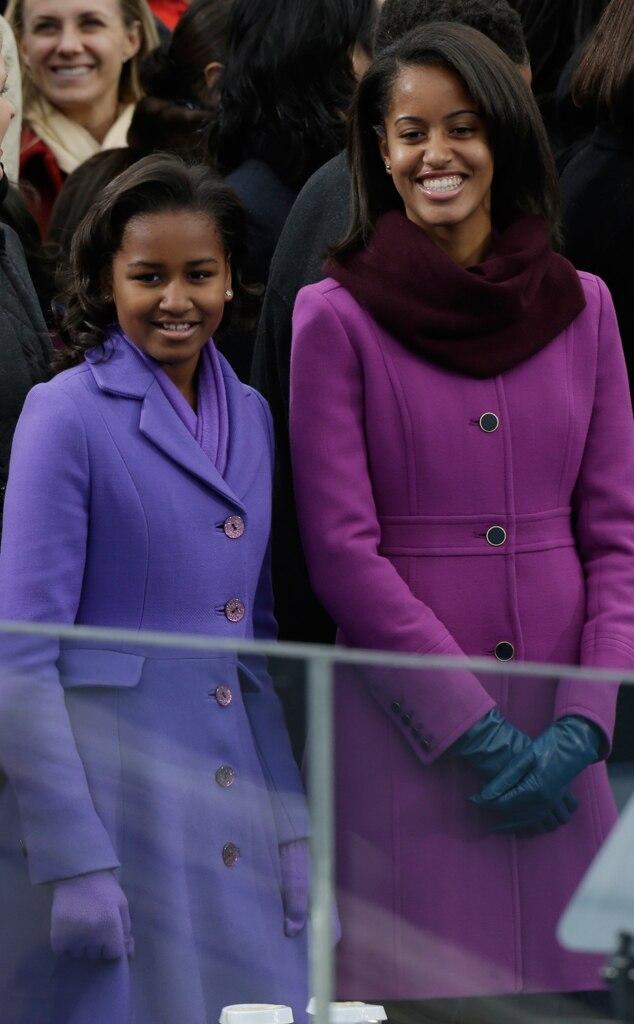Sasha Obama, Malia Obama, Celeb Sisters