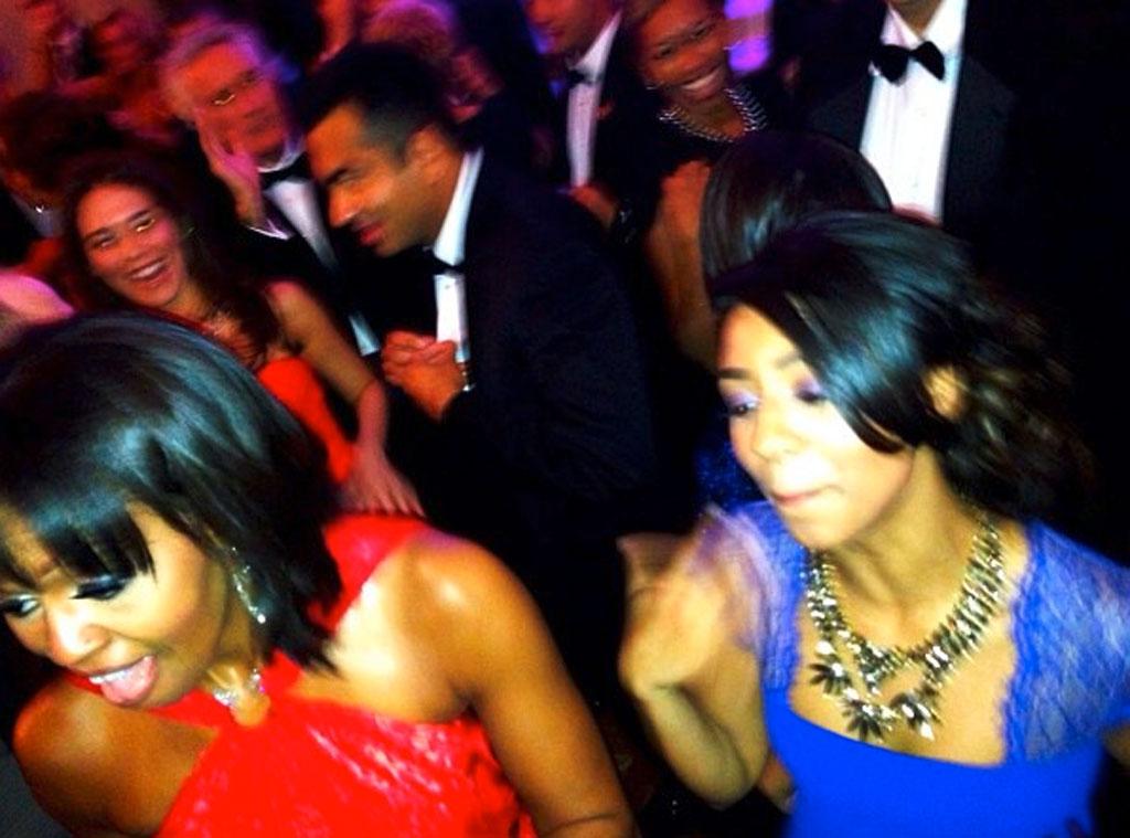 India Benet, Michelle Obama, Twit Pic