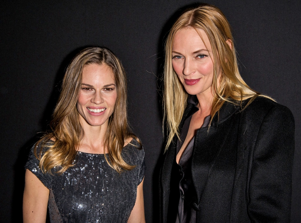 Hilary Swank, Uma Thurman