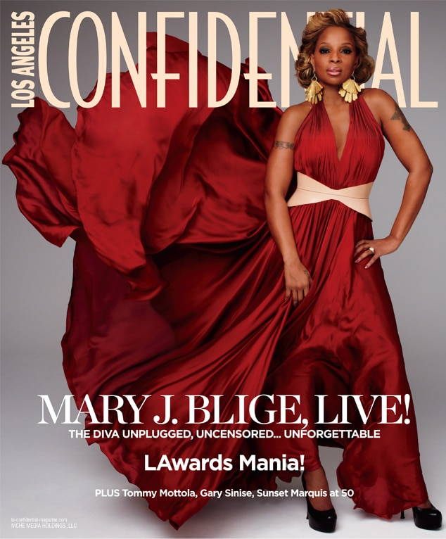 Mary J Blige, LA Confidential Magazine