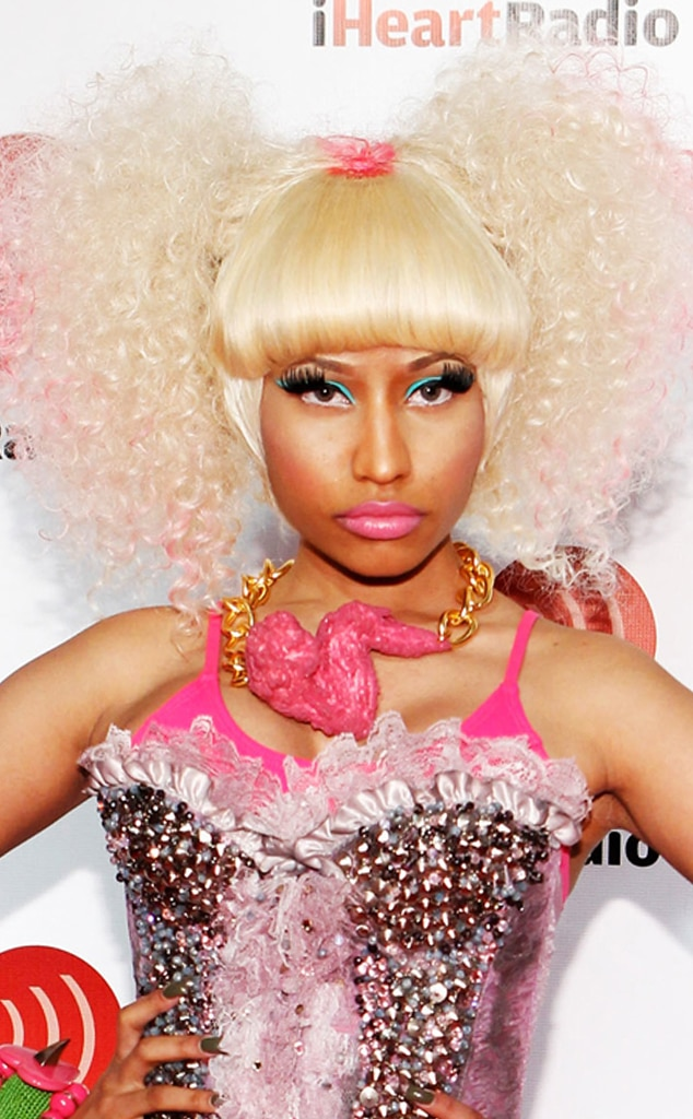 Nicki Minaj, Hair Gallery