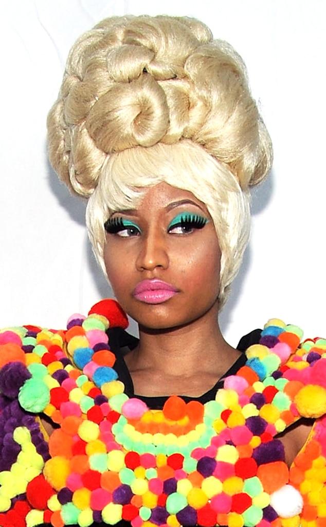 Nicki Minaj, Hair Gallery