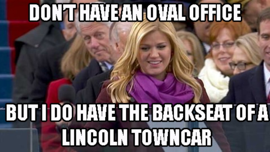 Bill Clinton Kelly Clarkson