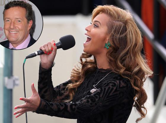 Beyonce, Piers Morgan
