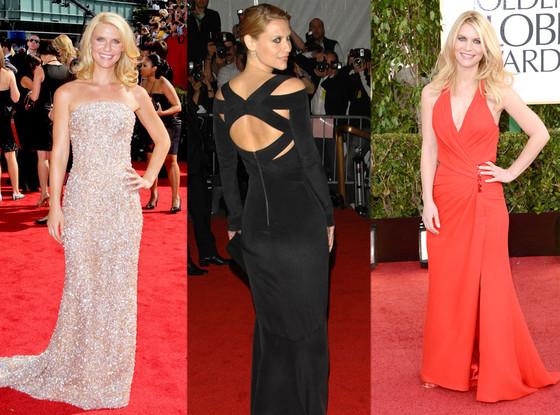 Claire Danes Golden Globes