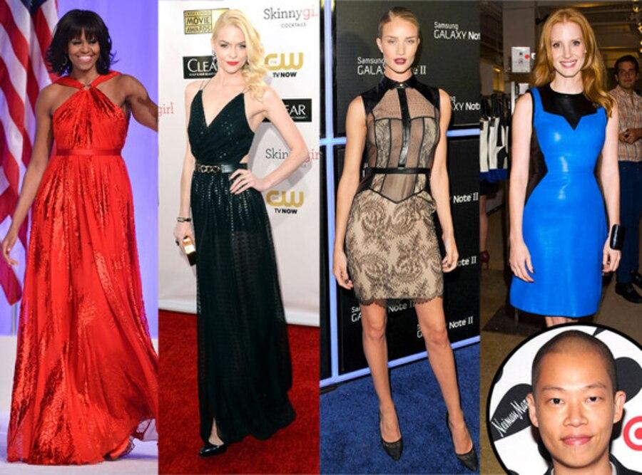 Jason Wu, Michelle Obama, Jaime King, Rosie Huntington-Whiteley, Jessica Chastain