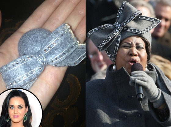 Katy Perry, Aretha Franklin
